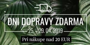 Dni dopravy zdarma! 25. – 29. 04. 2019