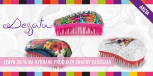 Akcie na vybrané produkty značky Dessata – 20%