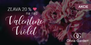 Akcia na rad Olivia Garden Violet Valentine Edition -20%