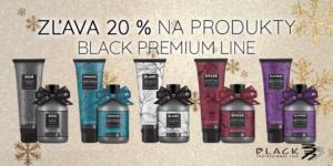 Akcia na vybrané produkty Black Professional Premium Line -20%