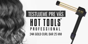 Testujeme pre vás – Kulma na vlasy Hot Tools 24K Gold Curl Bar – 25 mm