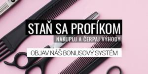 Bonusový systém pre profesionálov